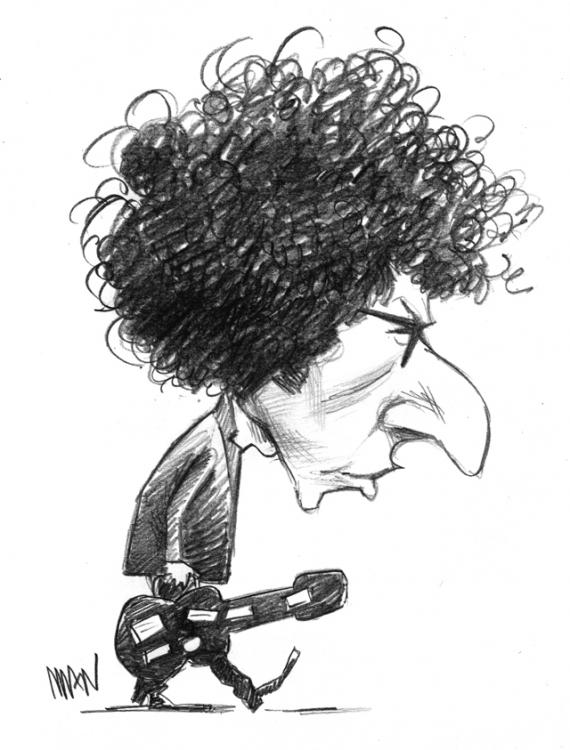 Caricature : Dylan 3