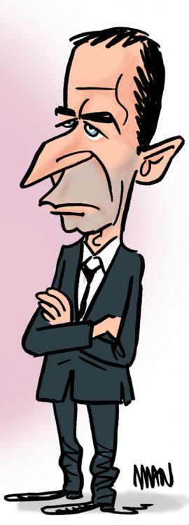 Caricature : Hamon 2