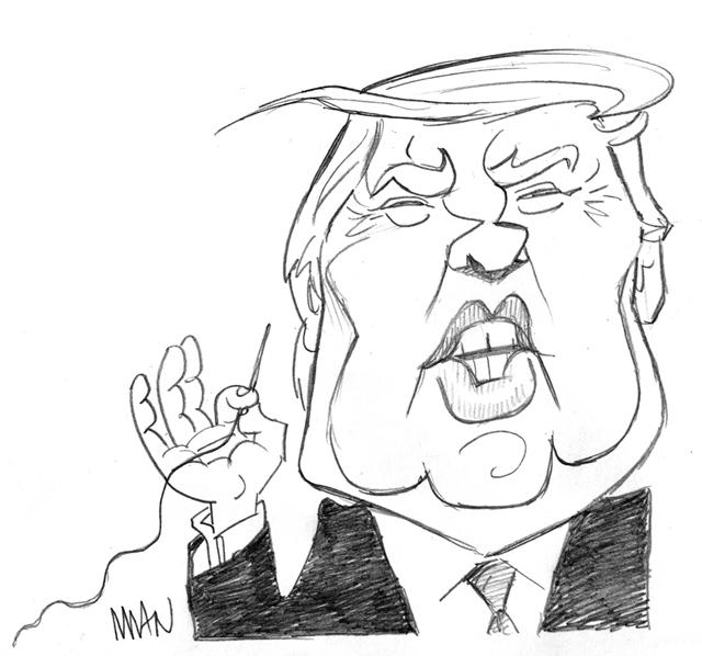 Caricature : Trump 3