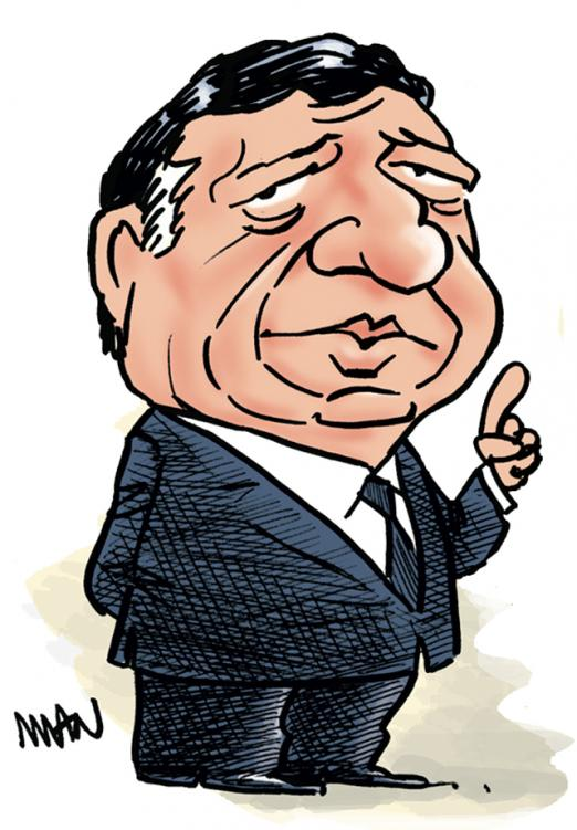 Caricature : Barroso 2