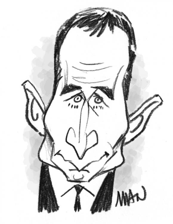 Caricature : Hamon 3