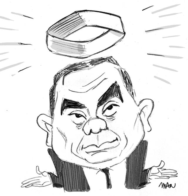Caricature : Ghosn Carlos 2