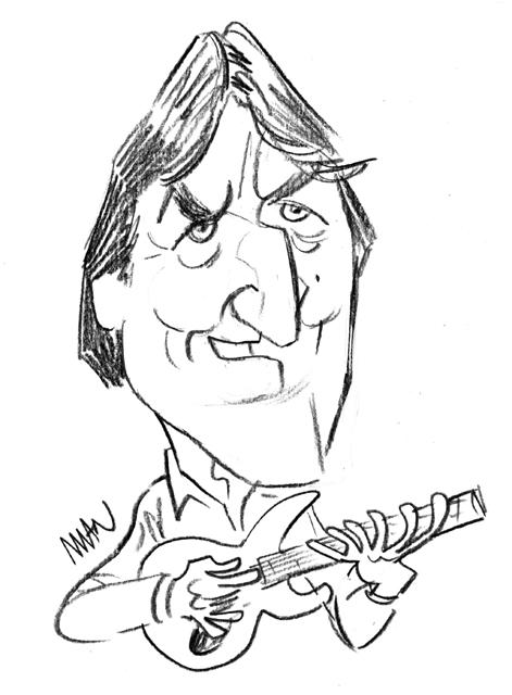 Caricature : Holdsworth Alan
