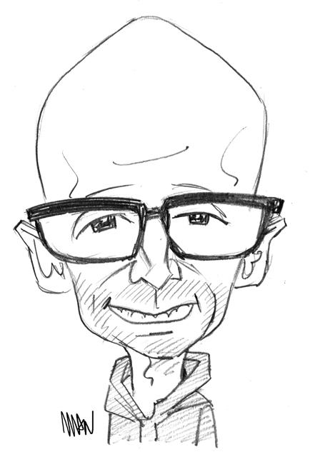 Caricature : Moby