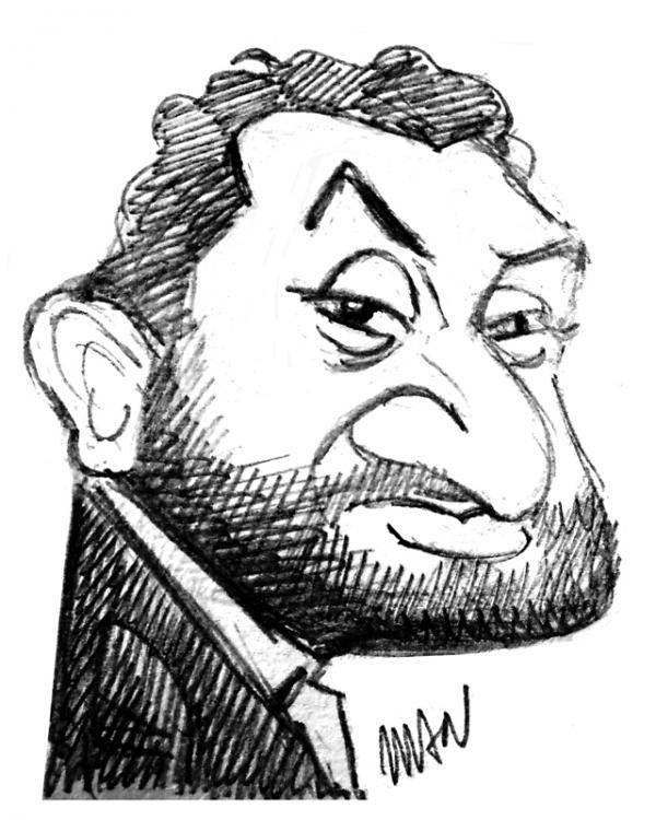 Caricature : Hanouna 2