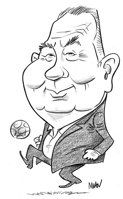 Caricature : Fontaine juste
