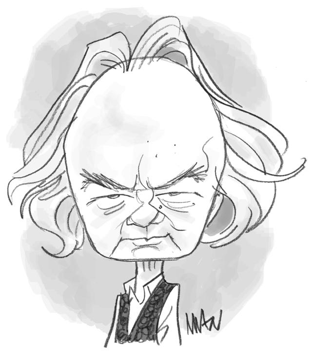 Caricature : Saint-Bris Gonzague