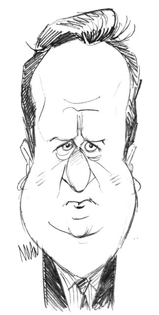 Caricature : Cameron David