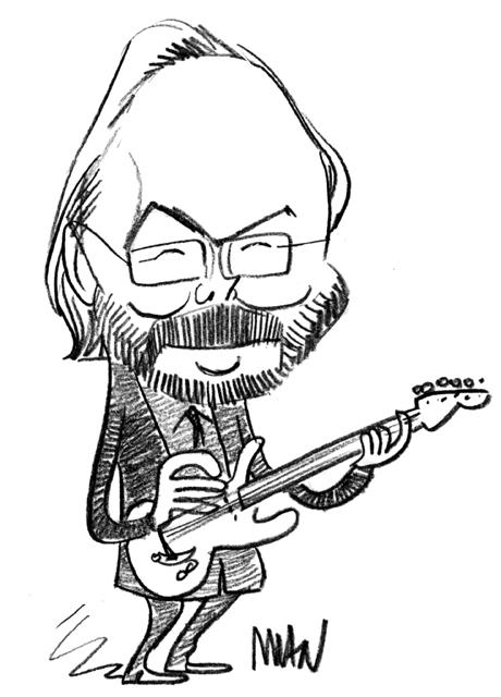 Caricature : Becker Walter