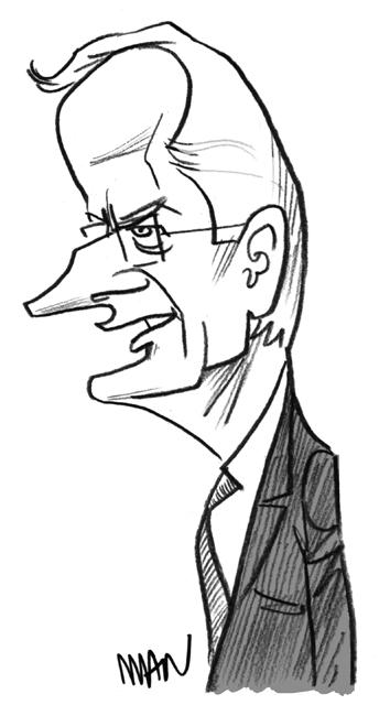 Caricature : Barnier Michel