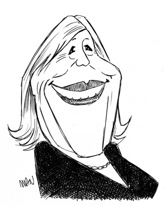 Caricature : Faithfull Marianne