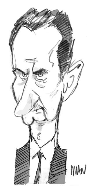 Caricature : Al Assad 3
