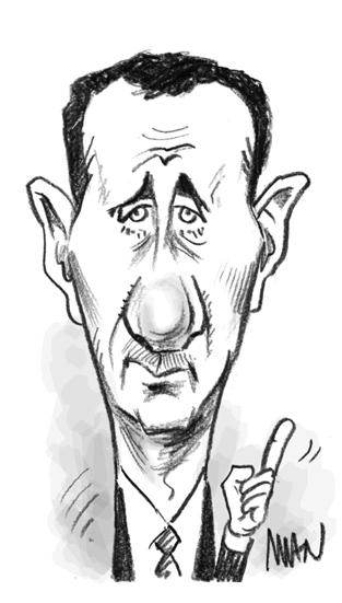 Caricature : Al Assad 4