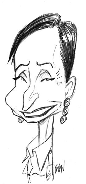 Caricature : Scott-Thomas C.