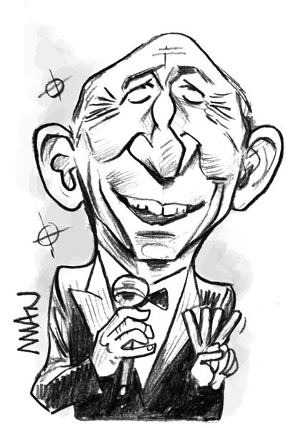 Caricature : Collomb Gérard
