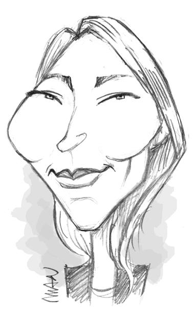 Caricature : Smet Laura