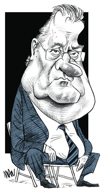 Caricature : Frêche Georges