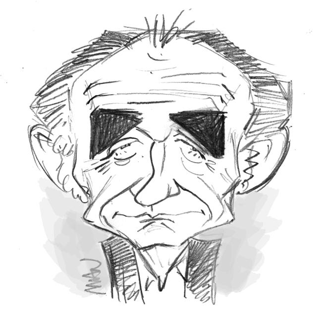 Caricature : Bohringer Richard