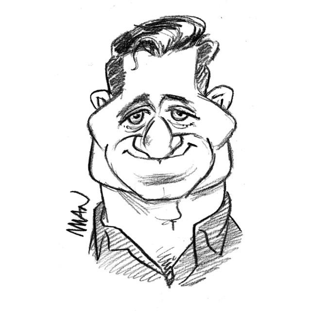 Caricature : Py Olivier