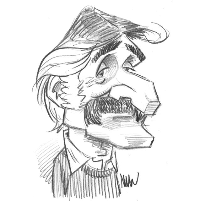 Caricature : Cavanna 2