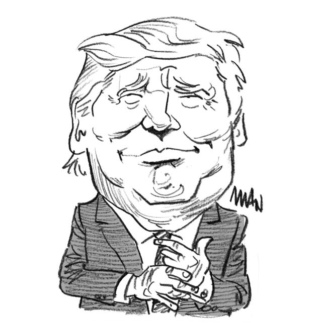 Caricature : Trump 6