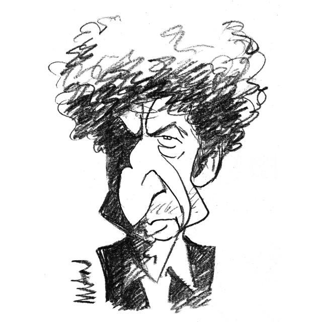 Caricature : Dylan 4