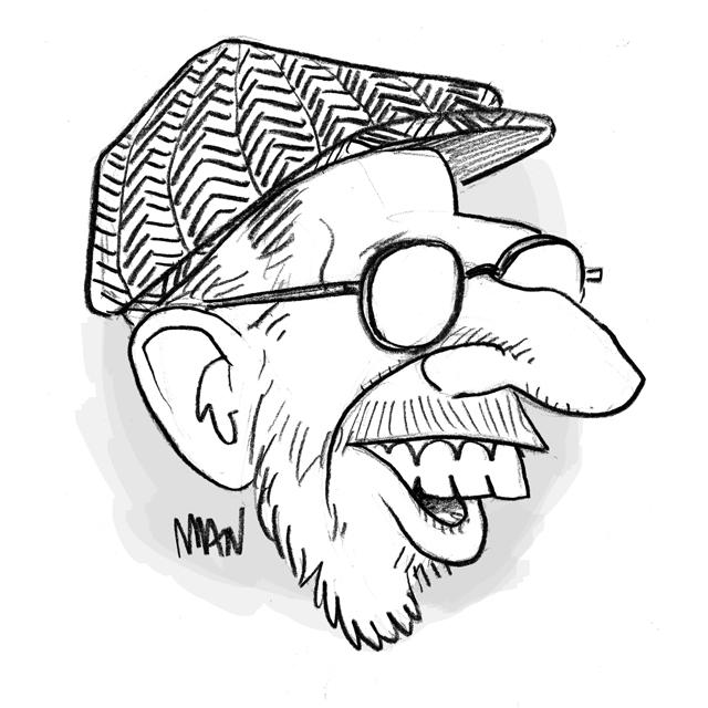 Caricature : Crumb Robert