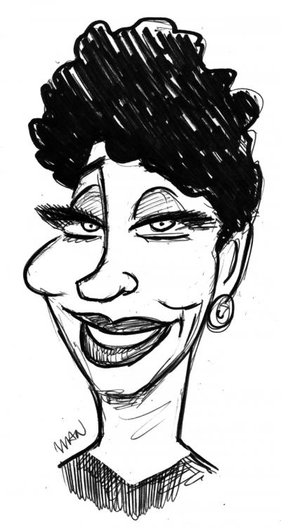 Caricature : Dax Micheline-