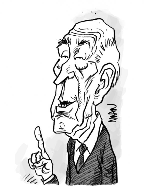 Caricature : Giscard 2
