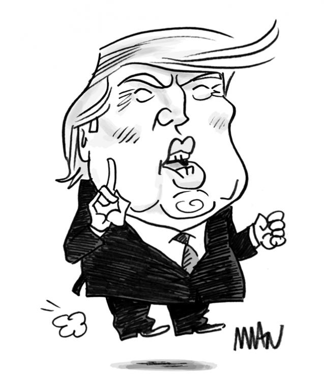 Caricature : Trump 8