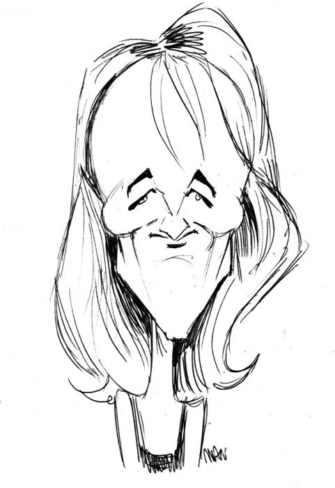 Caricature : Hunt Helene