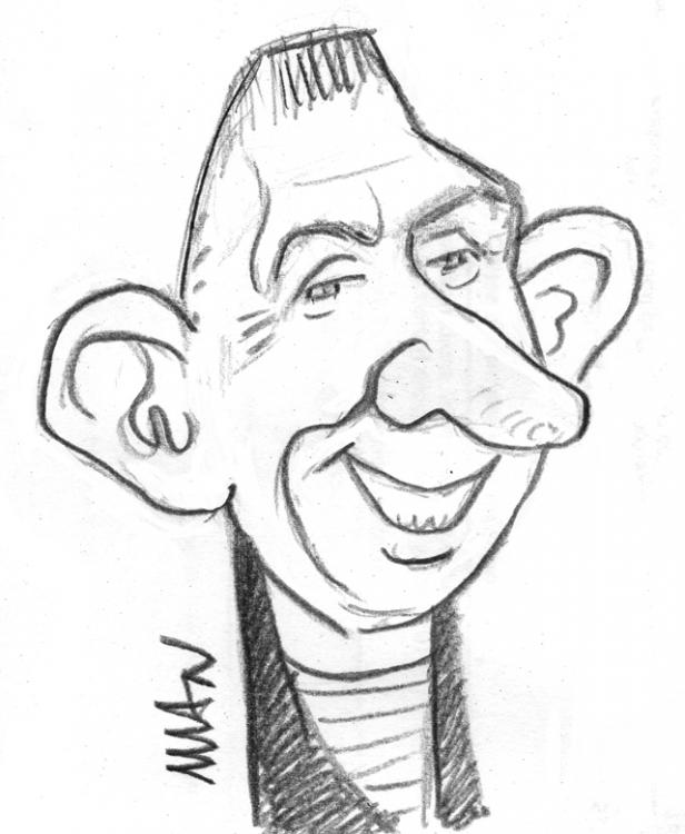 Caricature : Gautier Jean-Paul