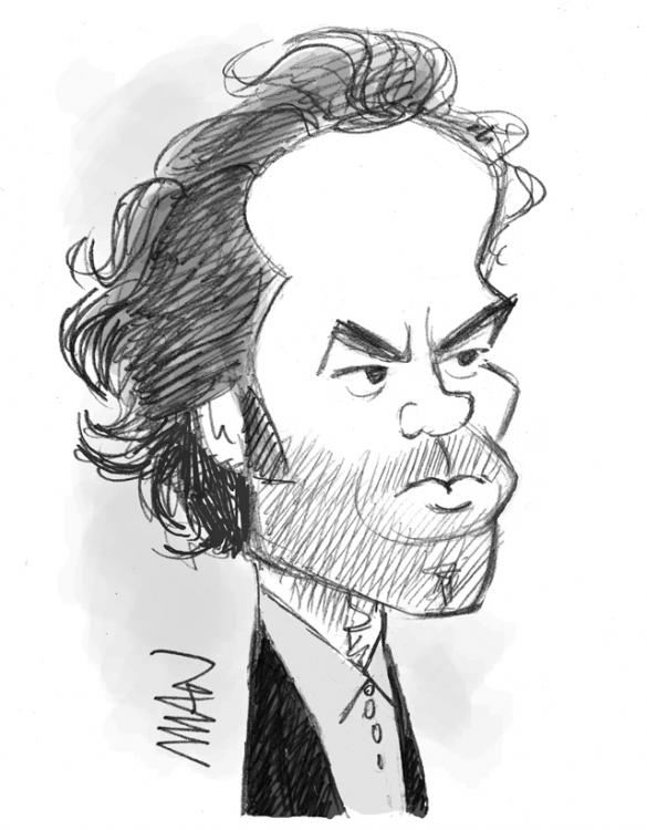 Caricature : Duris Romain