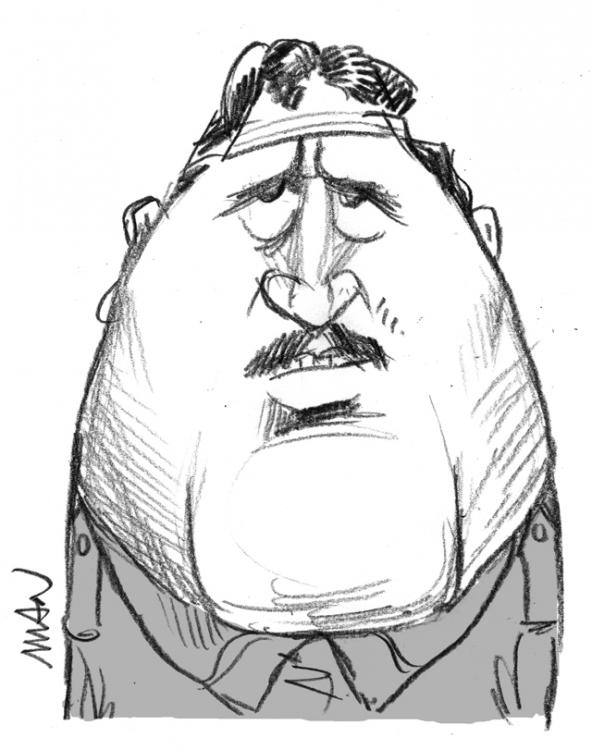 Caricature : Apollinaire Guillaume