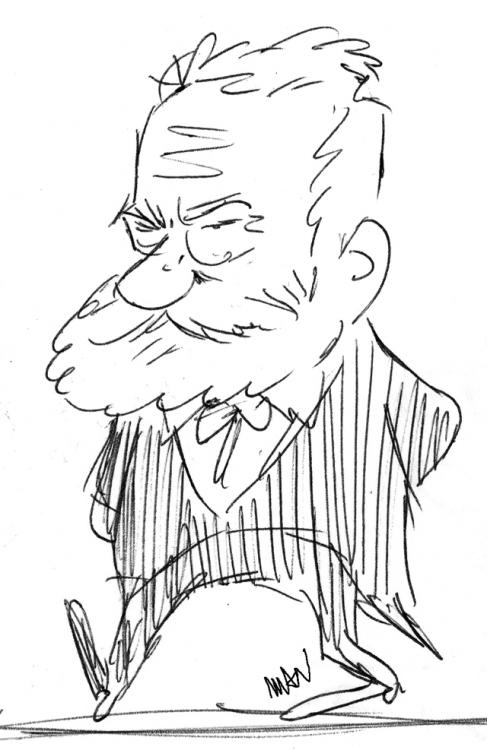 Caricature : Hugo 3