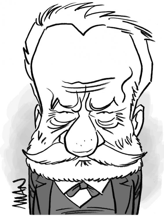 Caricature : Hugo 4