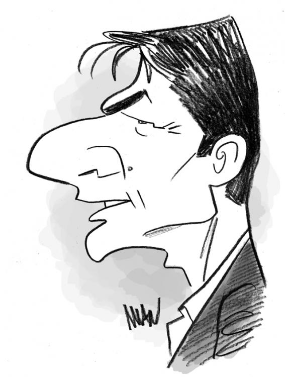 Caricature : Cruise Tom 2