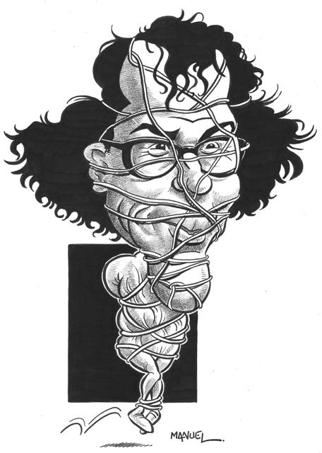 Caricature : Christo