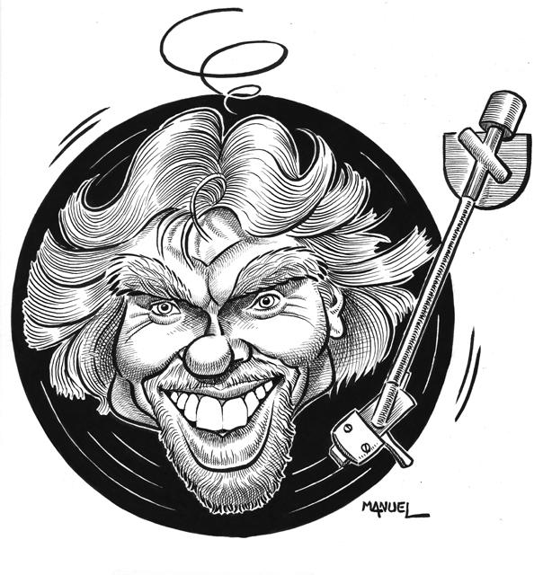 Caricature : Branson Richard