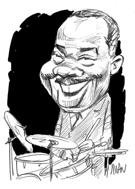 Caricature : Clarke Kenny