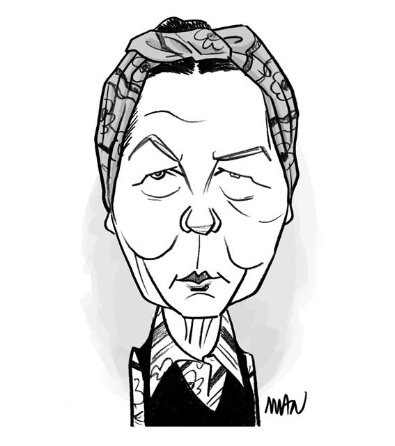 Caricature : De Beauvoir Simone