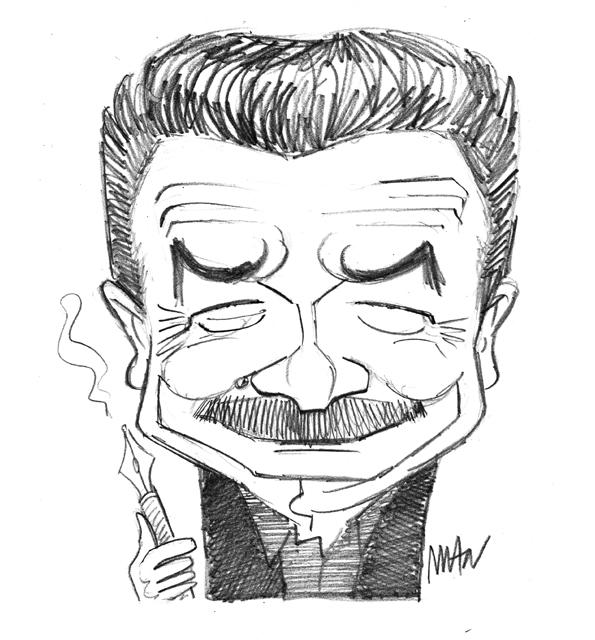 Caricature : Plenel Edwy