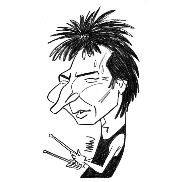 Caricature : Bozzio Terry