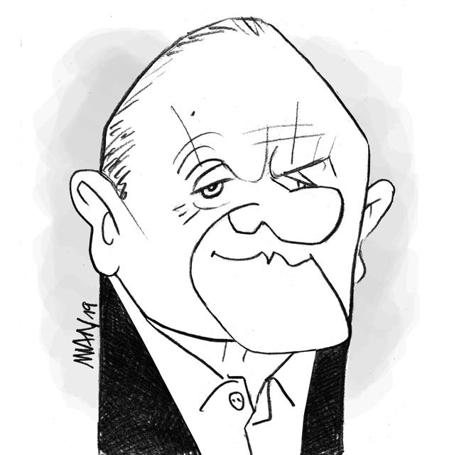 Caricature : Hopkins A. 2