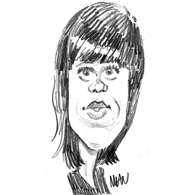 Caricature : Fonda Jane 2