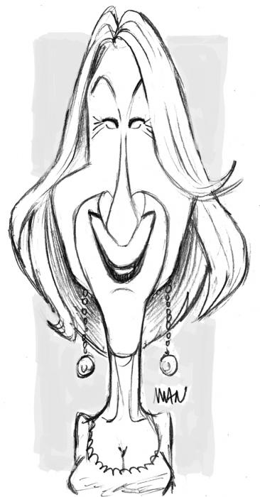 Caricature : Mirren Helen