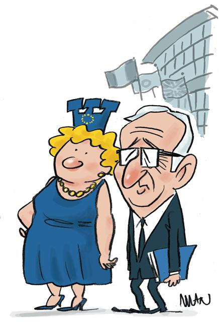Caricature : Juncker JC.