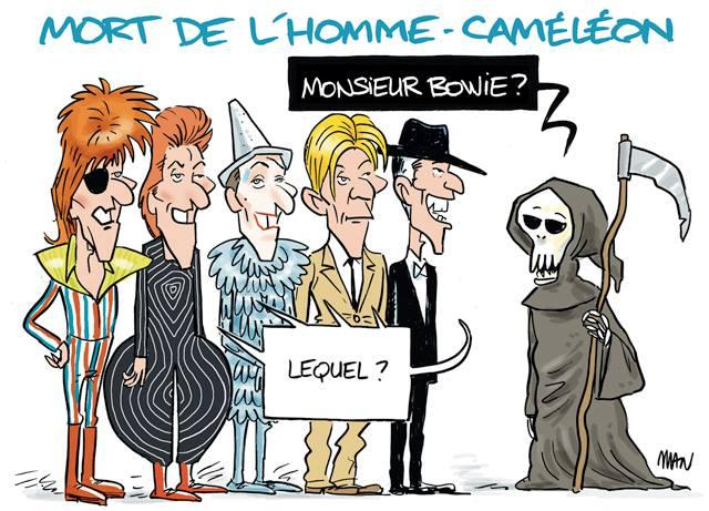 Caricature : Bowie 3