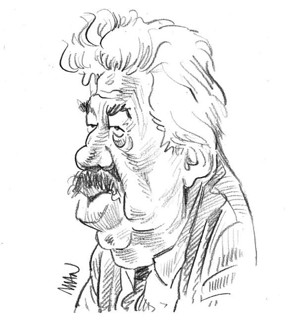 Caricature : Simon Michel