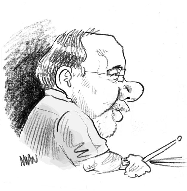 Caricature : Erskine Peter